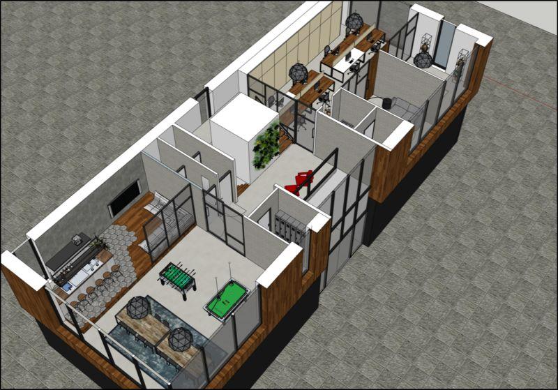 Het ideale kantoor van nu met corona